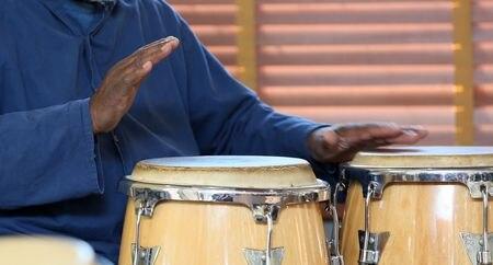 Black History Month drum circle at Snug Harbor Cultural Center