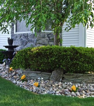 outdoor artificial flower landscaping