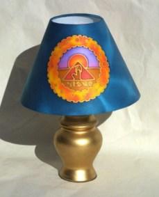 Thoth Silk Lampshade