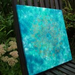 hand painted silk mandala art fionastolze silkandart