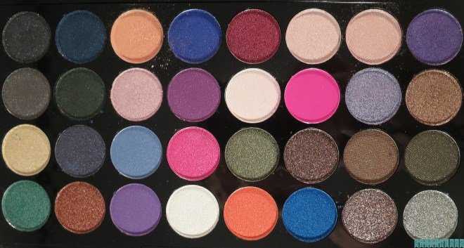Makeup Revolution Eyes Like Angels Ultra Eyeshadows