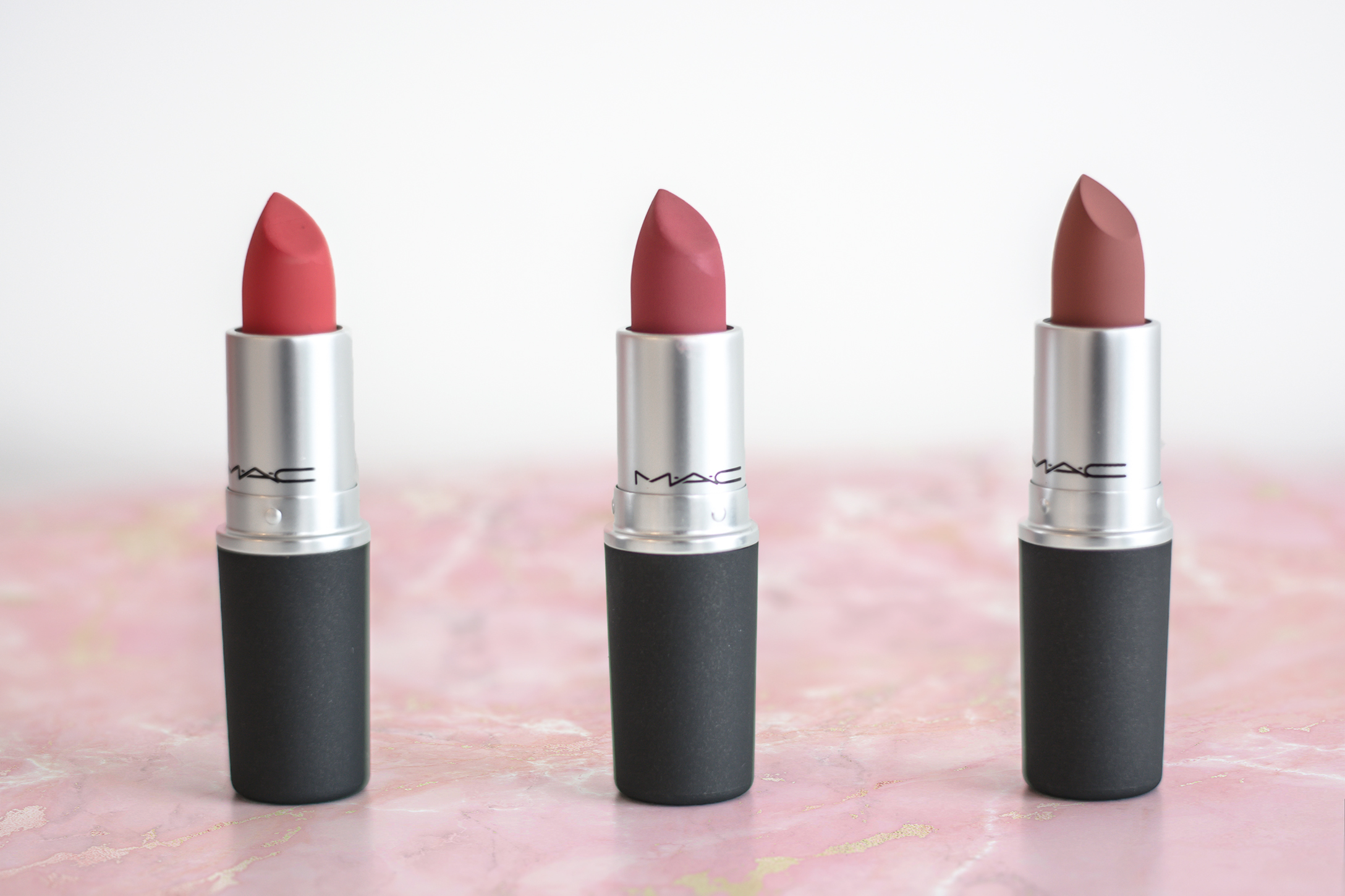 MAC Powder Kiss Lipsticks