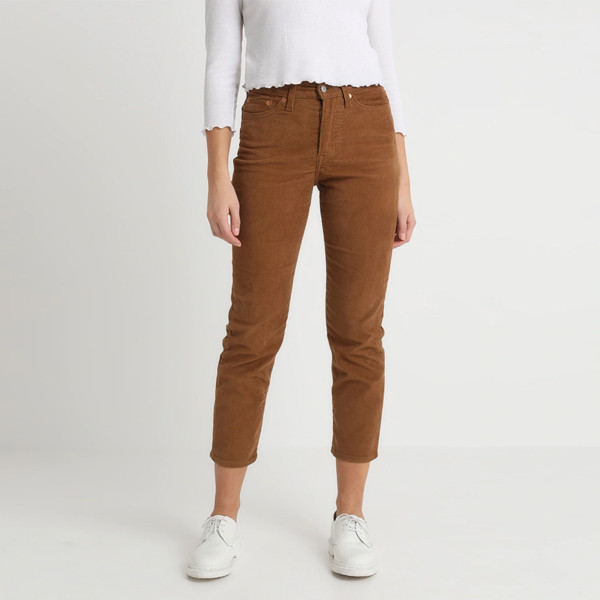 Wedgie High Rise Brown