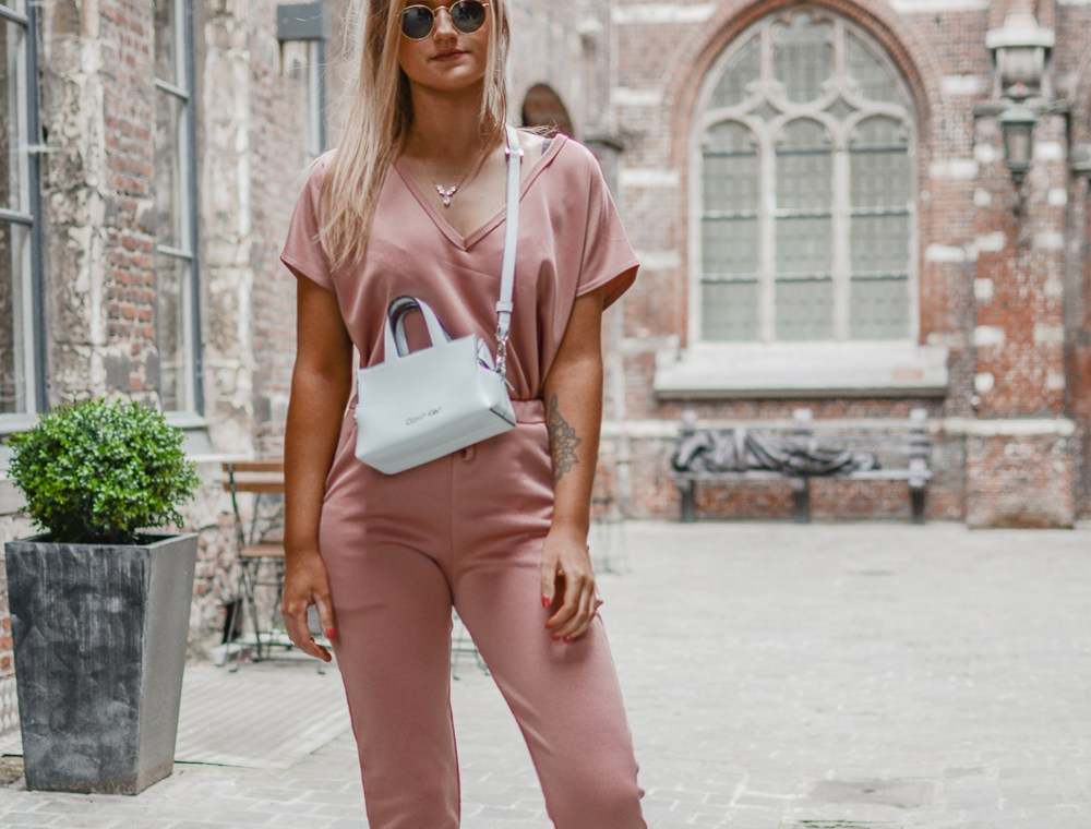 Outfit: Laid Back Pink