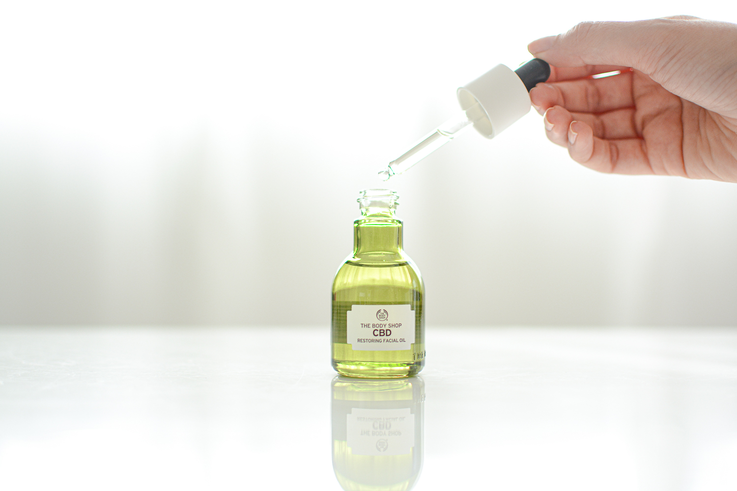 The Body Shop CBD Restoring Facial Oil