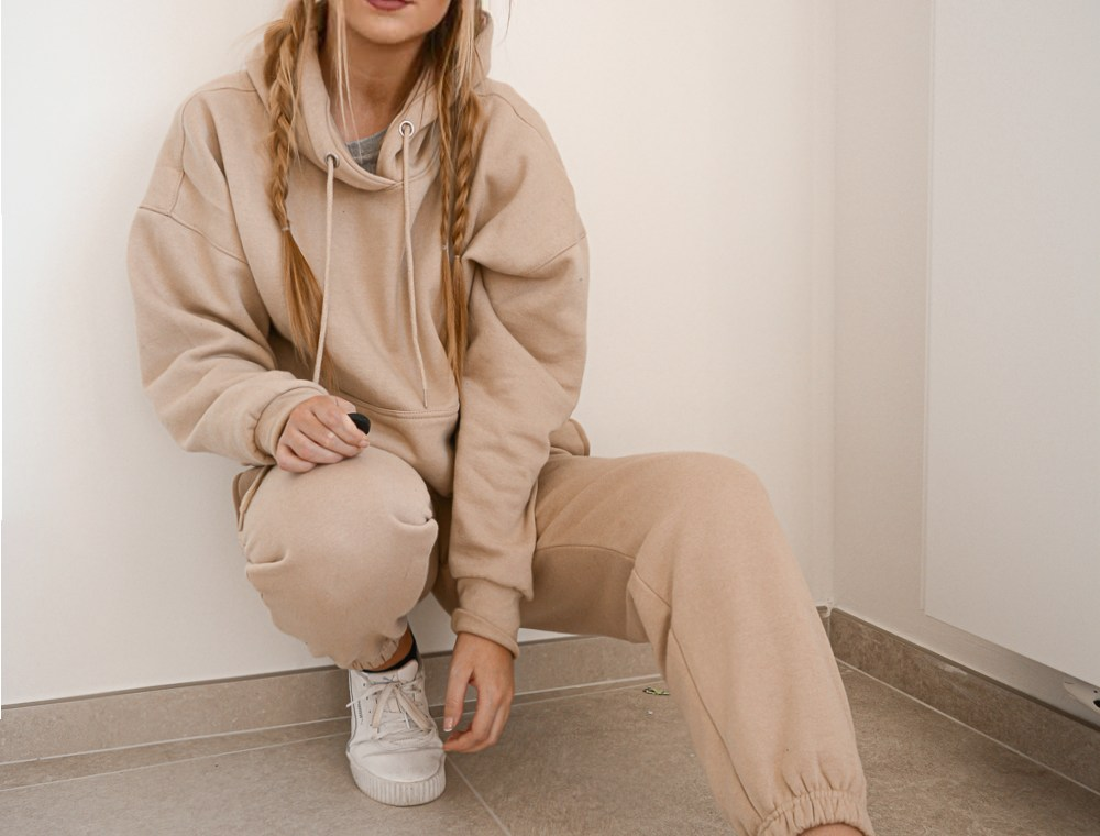 Outfit: Beige Tracksuit