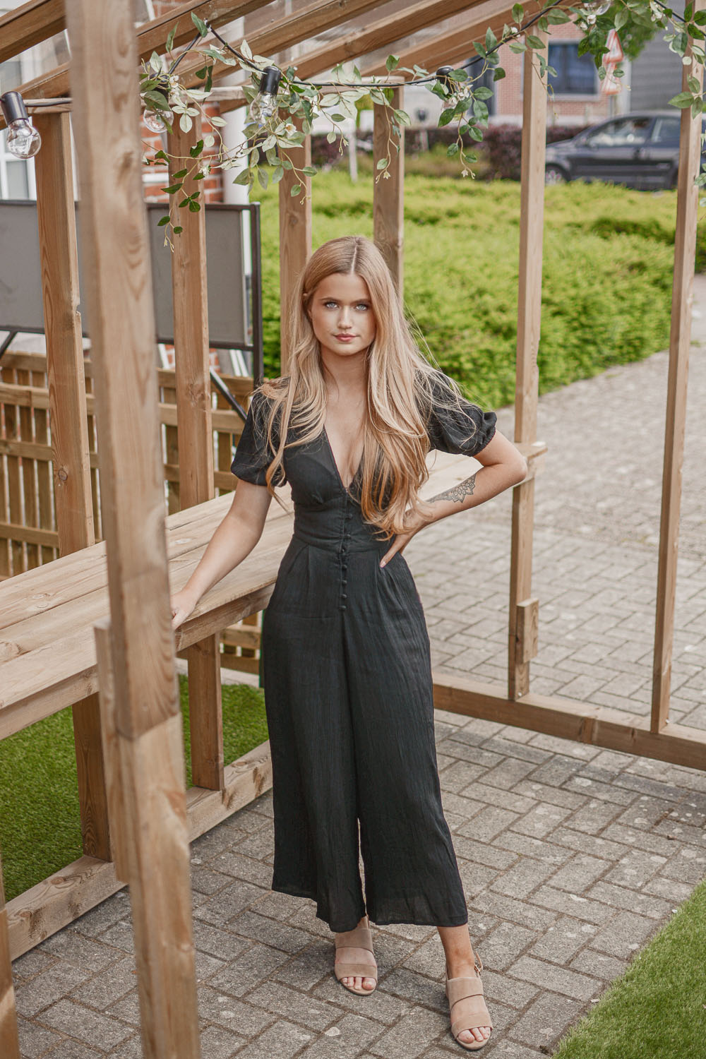 Outfit: J is for Jumpsuit