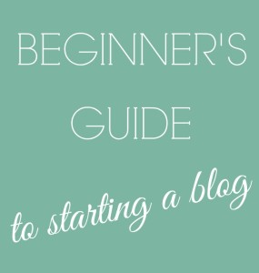 Beginner blogging guide