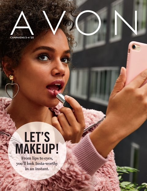 Avon Sales Brochure for campaigns 3 and 4, 2020