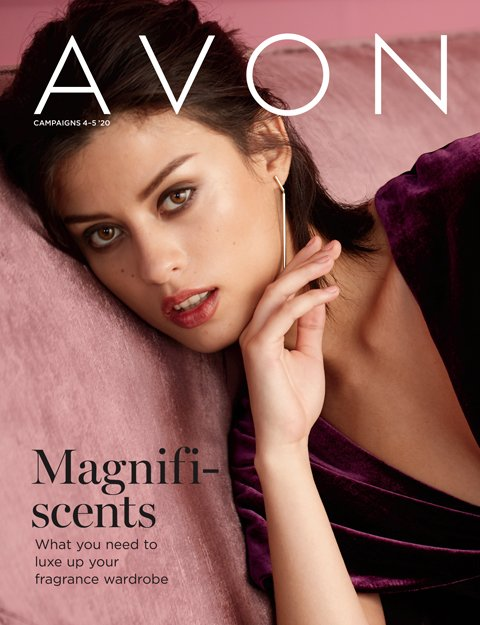 Avon sales brochure for campaigns 4 and 5.