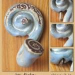 Keramik-Handtuchhalter