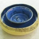 Keramik-Blumenring