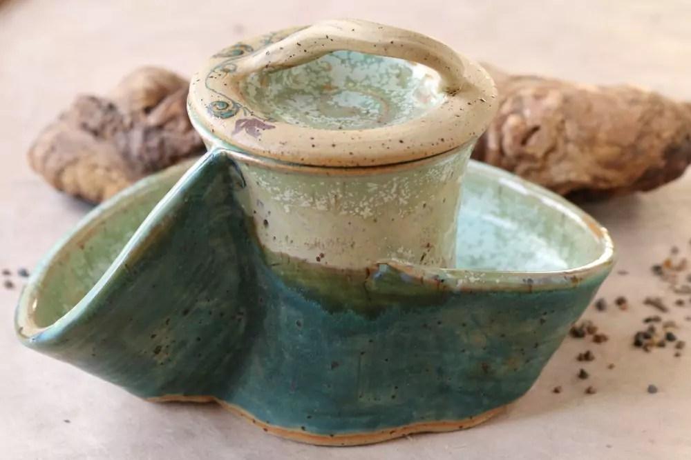 Dosen-Schale mint-grün