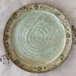 Frühstücksteller / Kuchenteller mint-grün