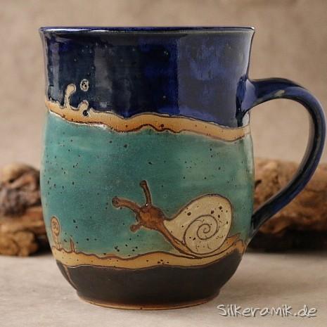 Intarsien-Keramik