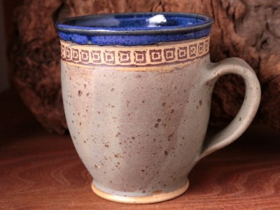 Kleine Tasse indigoblau