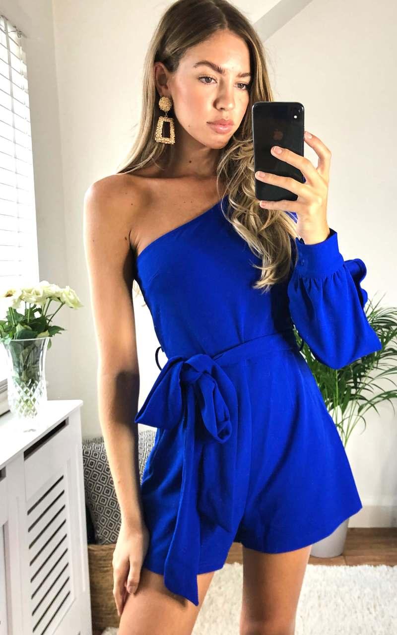 nara-asymmetric-one-sleeve-playsuit-cobalt_girl-in-mind