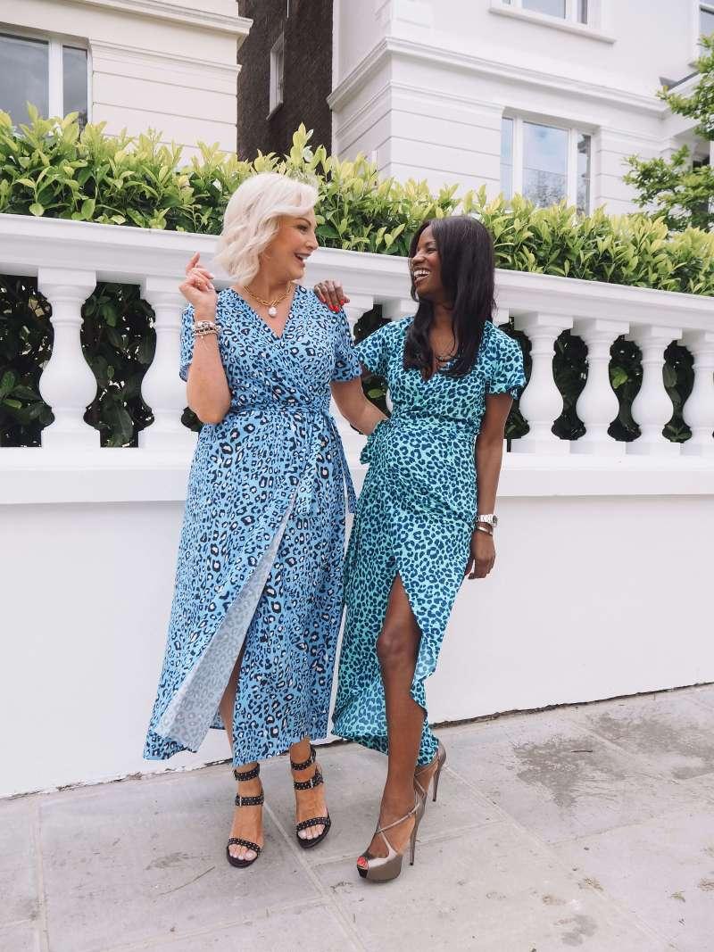 cayenne-dress-in-turquoise-leopard_dancing-leopard_short-sleeve-animal-print-wrap-maxi-dress_gini-london