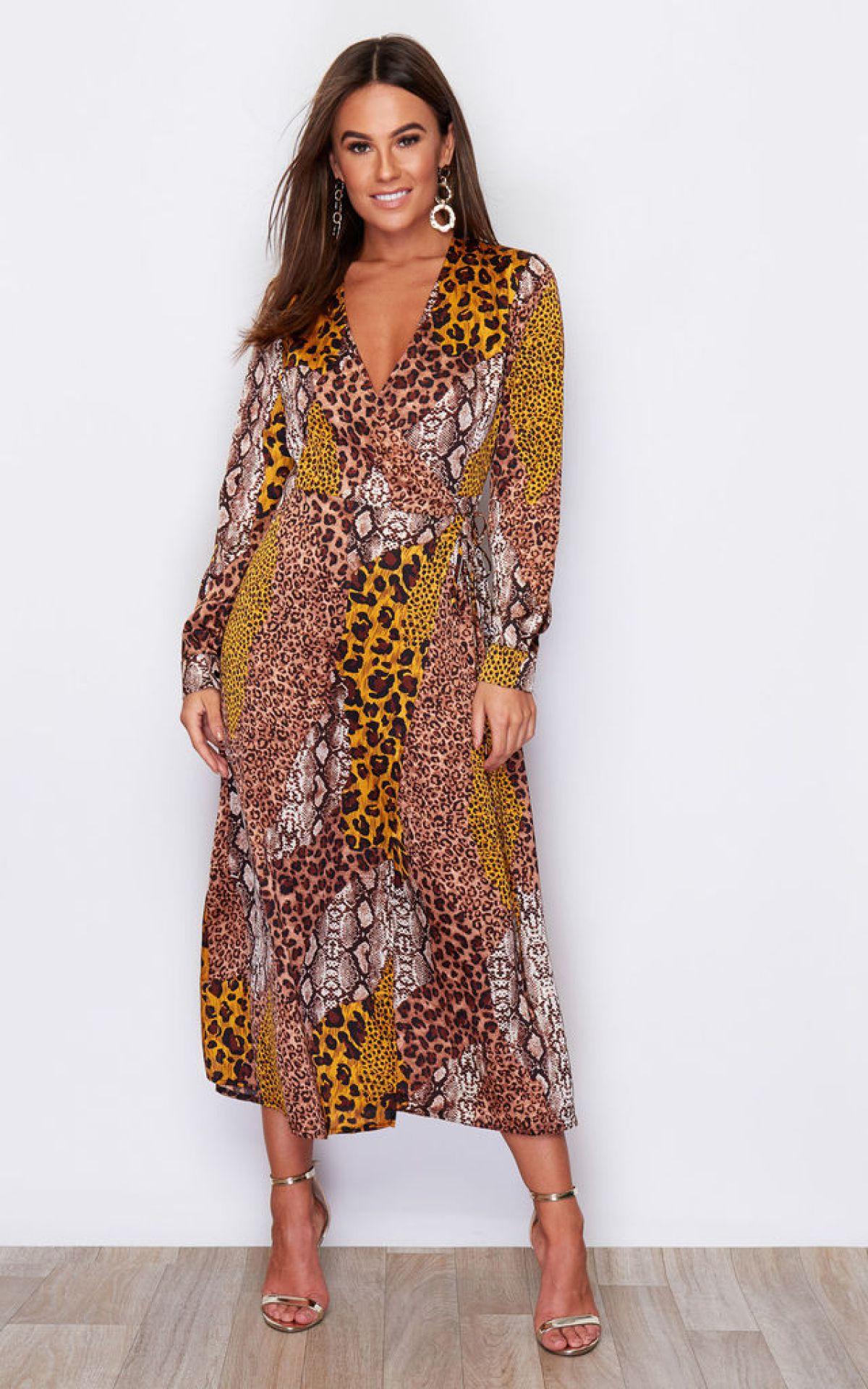 adrianna-tie-waist-long-sleeve-wrap-midaxi-dress-animal-print-summer-sale