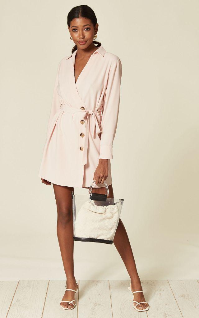 Pink sale dress