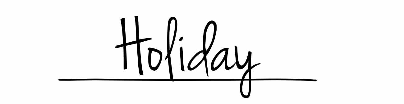 Holiday header