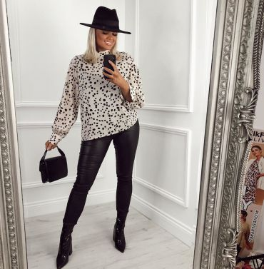 5 Ways To Style Leather Trousers