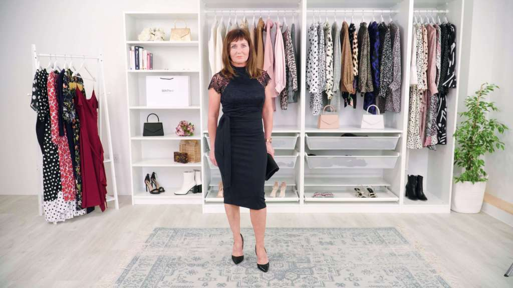 Navy Mother Of The Bride Dress on SilkFred