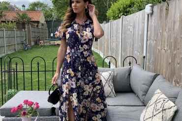 silkfred-discount-dark-navy-floral-maxi-dress