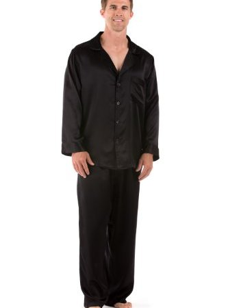 TexereSilk Men s Classic Silk Pajama Set (The Riviera) Luxury Sleepwear  46829aeab