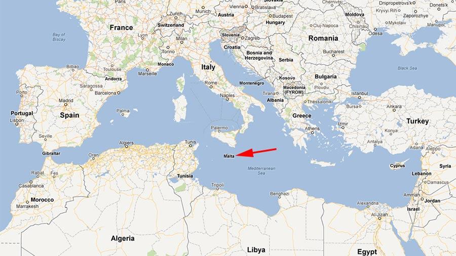 Radman na Cipru : Hrvatska želi ući u klub M7 Malta-Location-Map