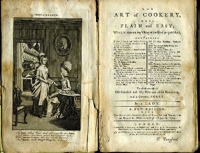 The Art of Cookery, 1774, photo by Laura Kelley