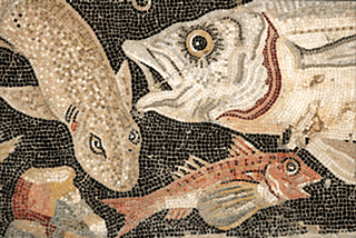 Image result for ancient Roman fish