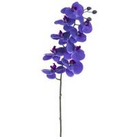 "36"" Phalaenopsis Orchid Silk Flower Stem -Purple | Orchid Stem"