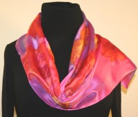 Featured silk scarves and accessories - Pink and Light ...