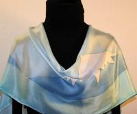 Buy Hand Painted Silk Scarves
