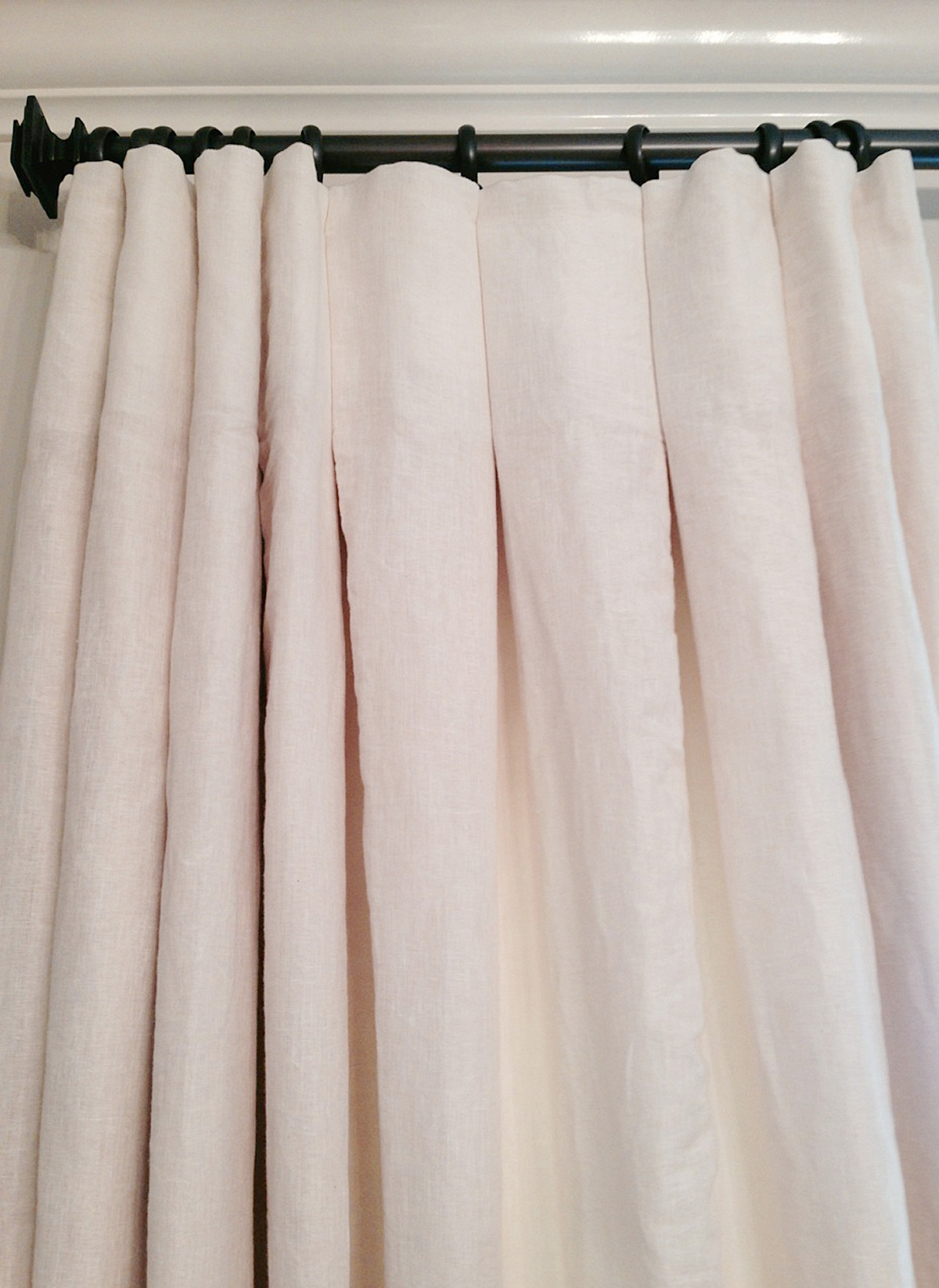 The Madison Drapery in Euro Linen