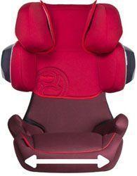 Comprar mejor silla de coche grupo 2 3 Cybex Solution X2 Fix