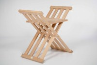 Folding and wooden medieval chair - Garca Hermanos