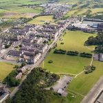 aerial view of silloth