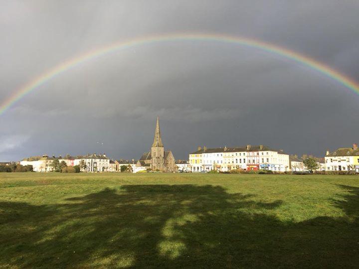 rainbow over criffel street