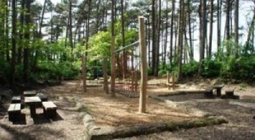 woodland play area