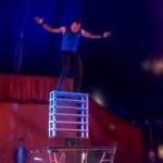 performer at james richards circus