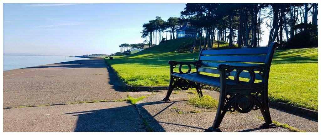 seat on the promenade