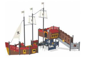 pirate ship play equipment