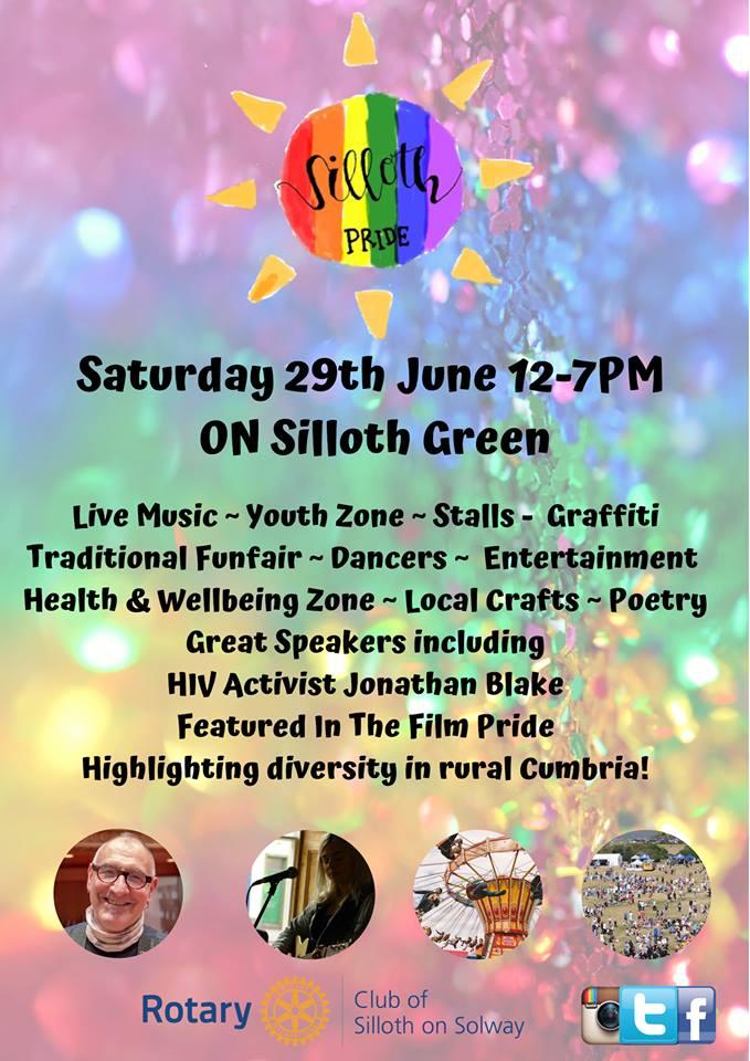 silloth pride poster