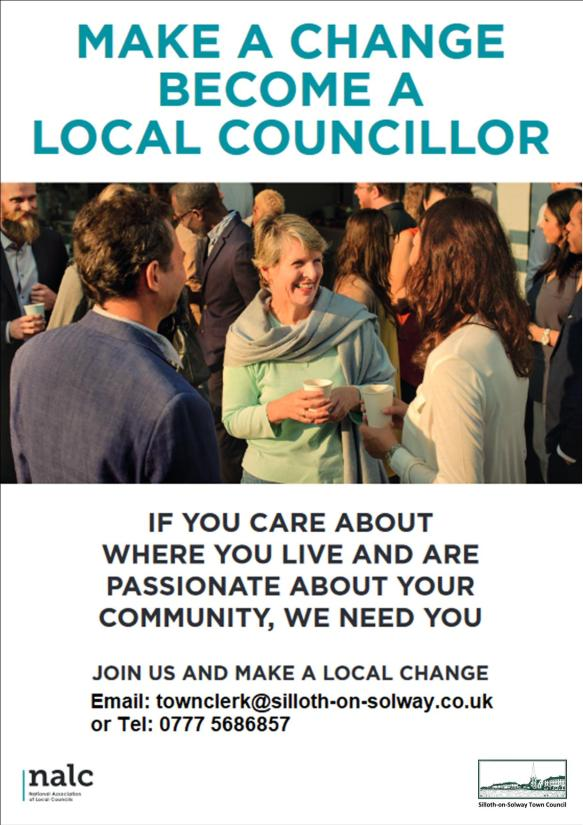 become a councillor poster