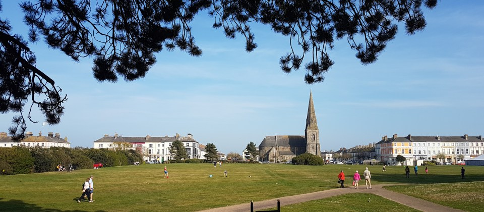 view of Silloth green