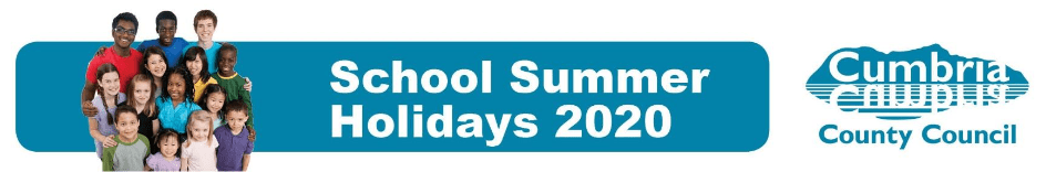 summer holiday activities banner