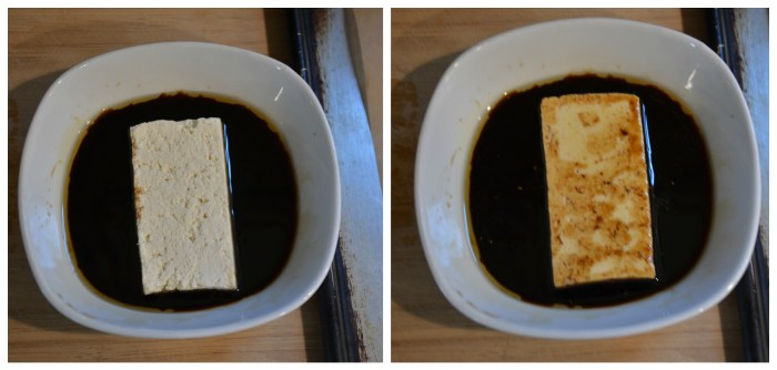 Dipping tofu