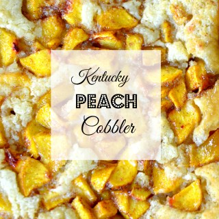 Kentucky Peach Cobbler